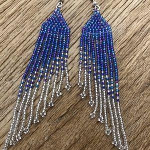 VC Design beaded earrings